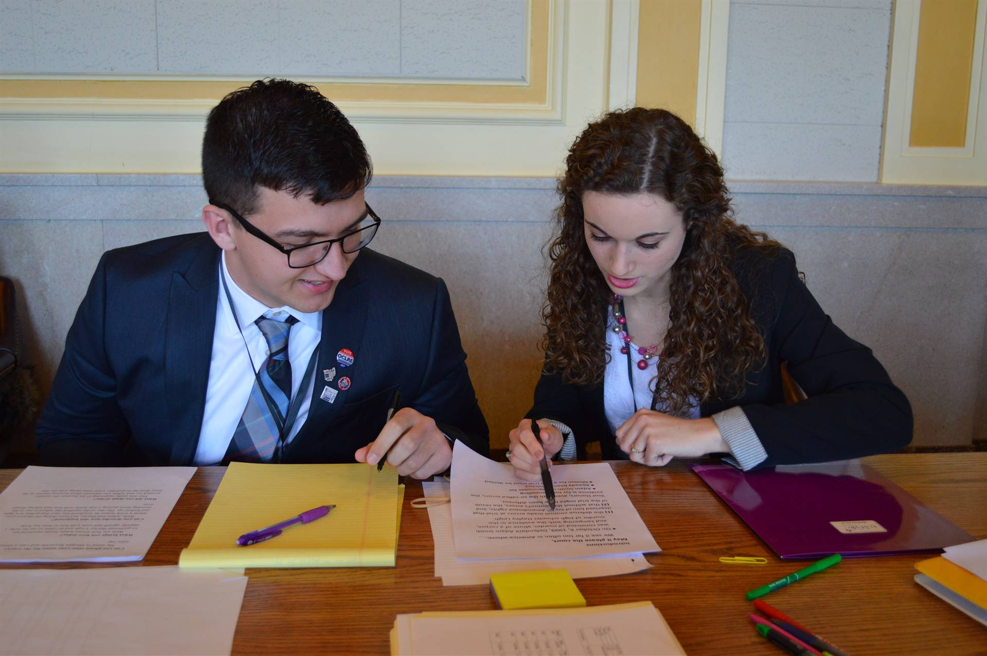 District Mock Trial Competition